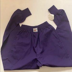 Cherokee Cuffed Scrub Pants